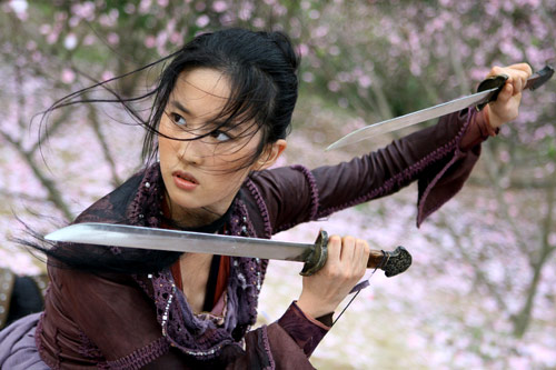 Liu Yifei as Golden Sparrow
