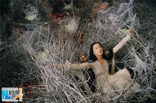 Liu Yifei in white
