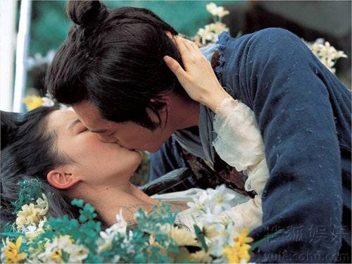 Liu Yifei Kiss
