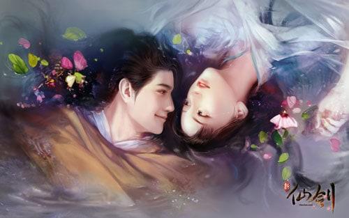 New Chinese Paladin Li Xiaoyao and Zhao Ling