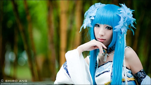 Long Kui cosplay Xian Jian 3