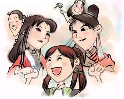 Xiao Yao, Ling Er and YiRu